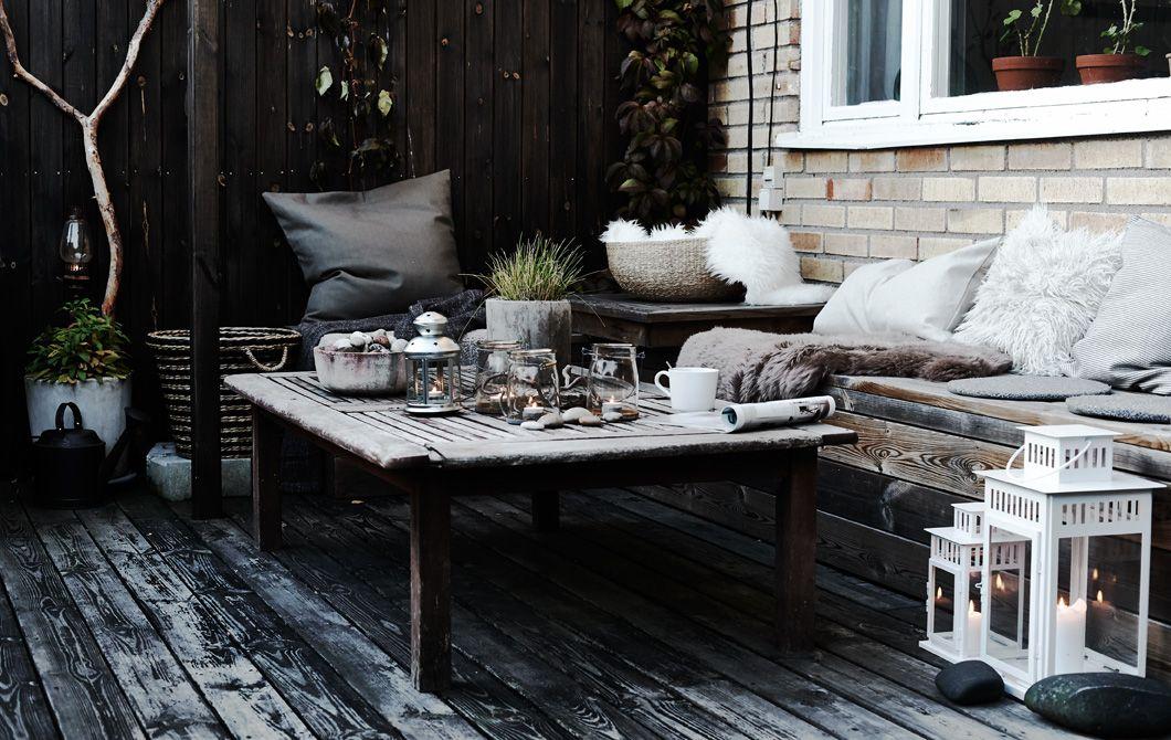 saras kuscheliger loungebereich im freien ideas garten balkon terrasse. Black Bedroom Furniture Sets. Home Design Ideas