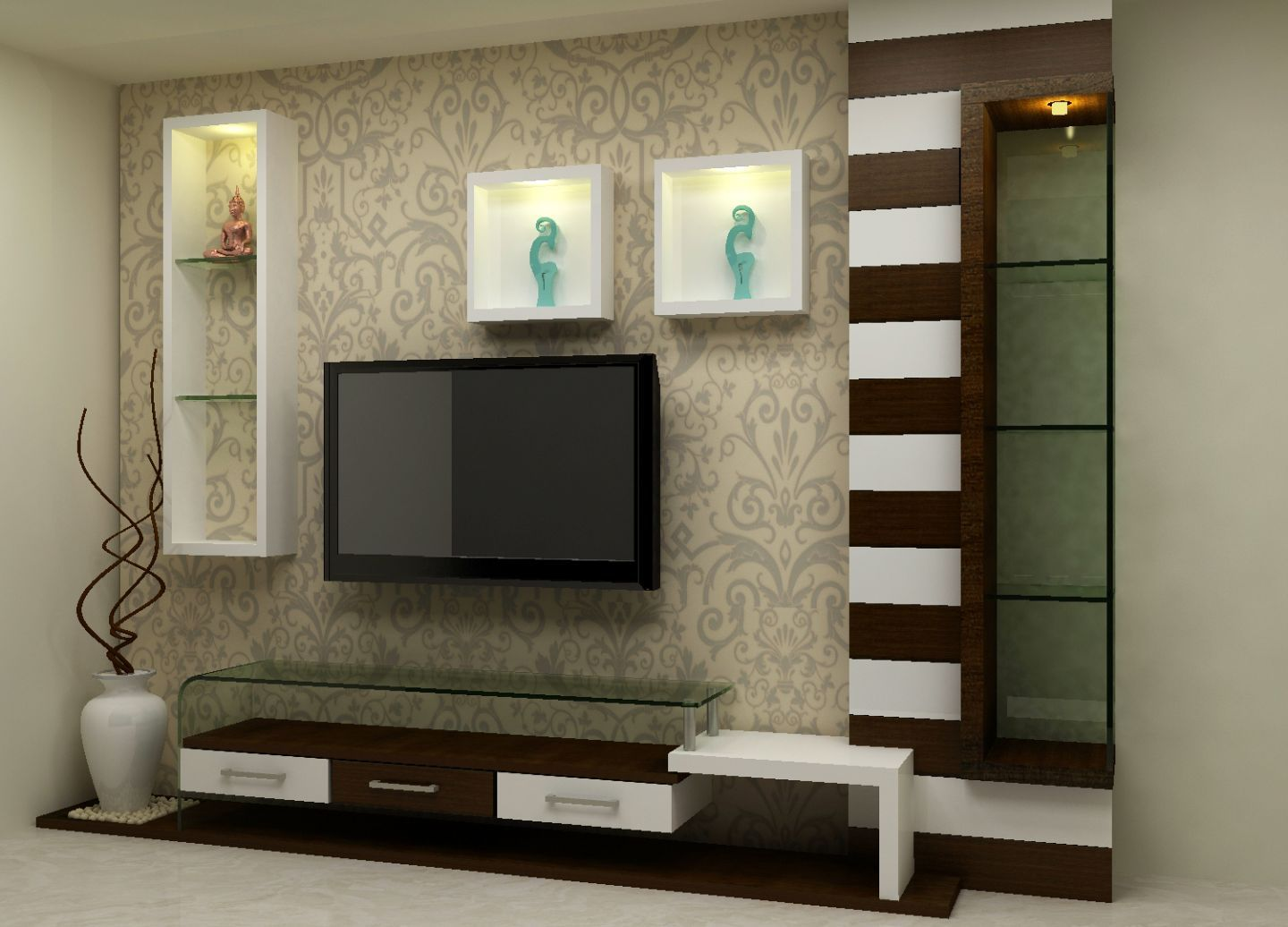 Pin By Ravi On Tvroom Lcd Wall Design Modern Tv Wall Units