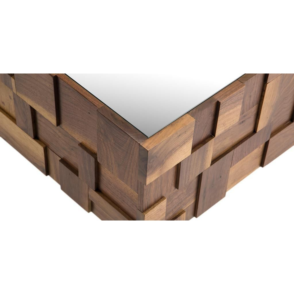 Jaxon home mulholland wood block coffee table image 3 of 7