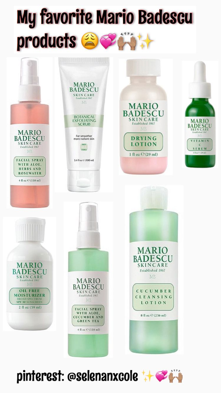I Love Mario Badescu S Skincare Line Everything He Creates