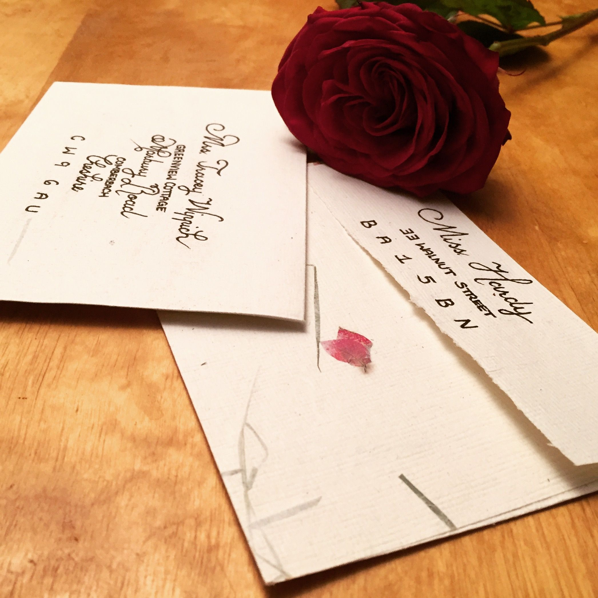 how to return address wedding envelopes%0A Mixed font calligraphy on invitation envelope  Addressing