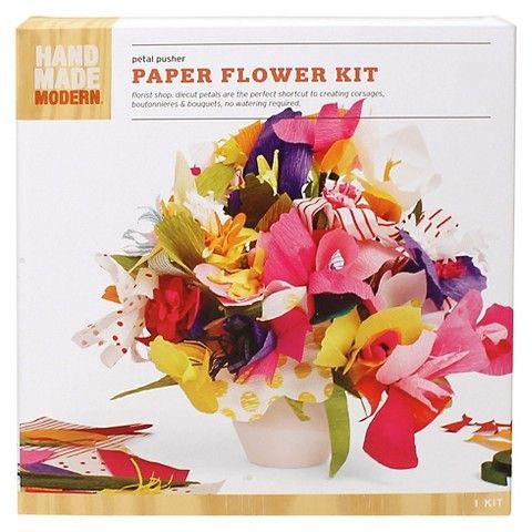 Hand made modern paper flower kit flower and crafty hand made modern paper flower kit mightylinksfo