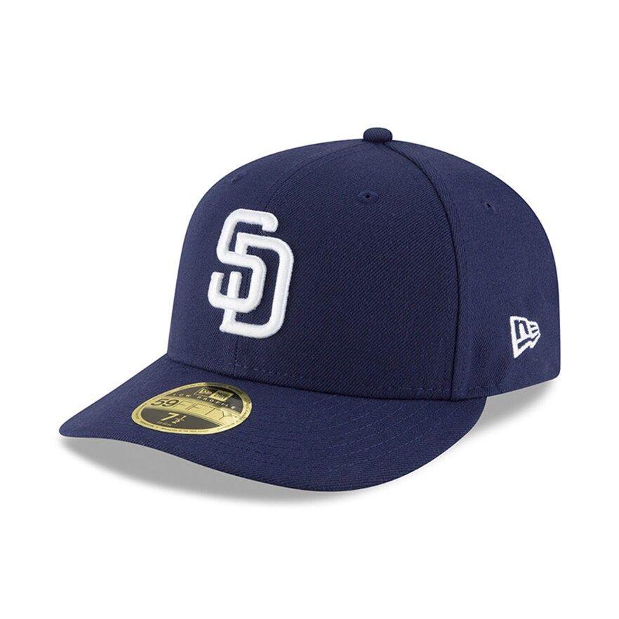San Diego Padres Adult Baseball Cap Blue
