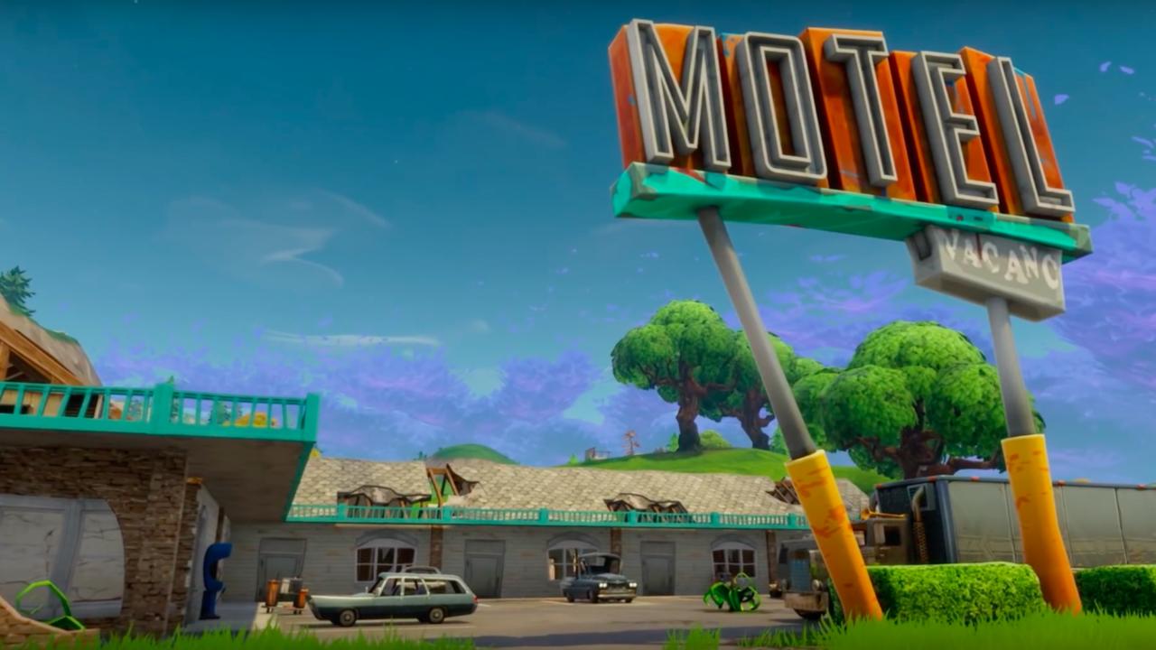 Fortnite Battle Royale Official Map Update Trailer Drop in