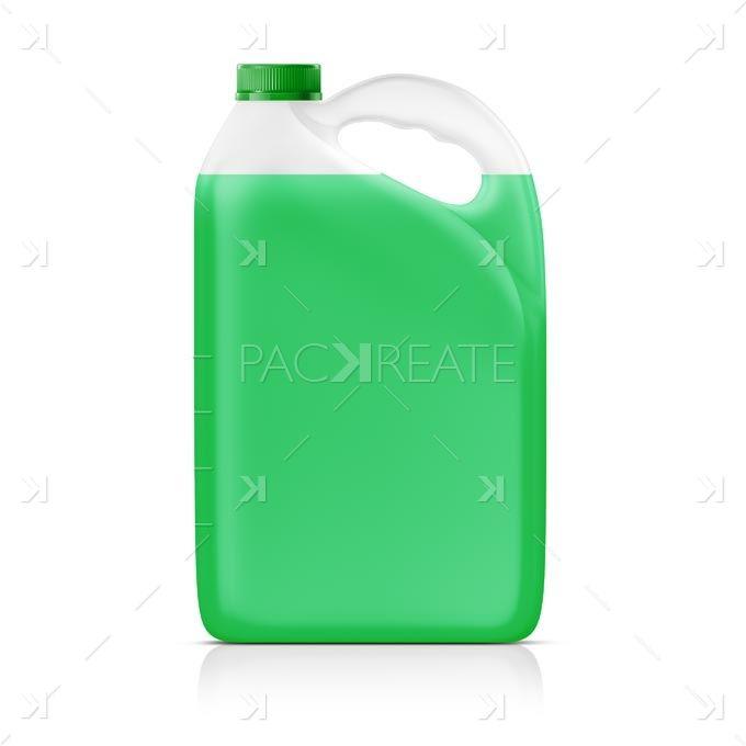 Bugwash Car Cleaner Gallon Smart Label Packreate Car Cleaner Gallon Packaging Mockup