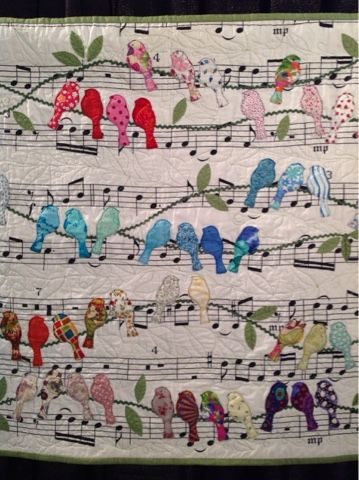 Periwinkle Quilting And Beyond Bird Quilt Quilting Crafts