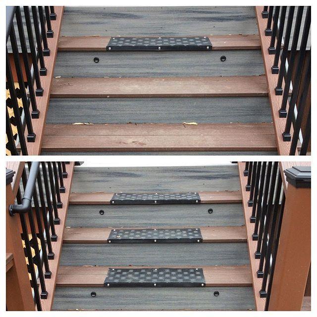 Best Addition Of No Slip Treads On Stairs Handyman1954 640 x 480