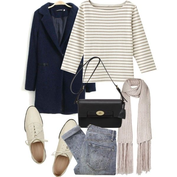 Stripe, navy & denim : Minimal + Classic
