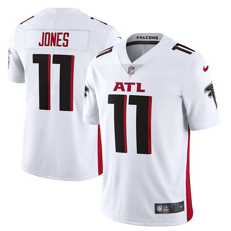 Men's Nike Julio Jones White Atlanta Falcons Vapor Limited Jersey ...