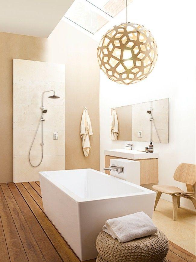 Badezimmer dusche glas wand badewanne ideen Interior Design