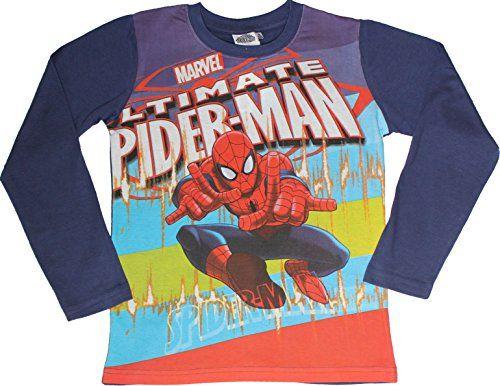 Spiderman Boys Long-Sleeved Top