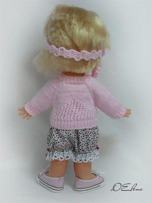 Кофточку для куклы своими руками 15