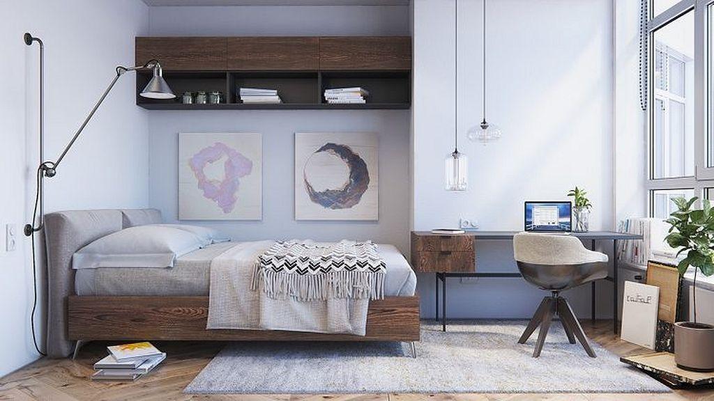 Gorgeous 30 Scandinavian Design Bedroom Trends In 2018 Https Homegardenmagz