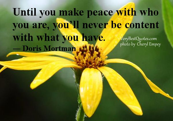 Quotes About Contentment Peace 47 Quotes Peace Quotes Contentment Quotes Peace