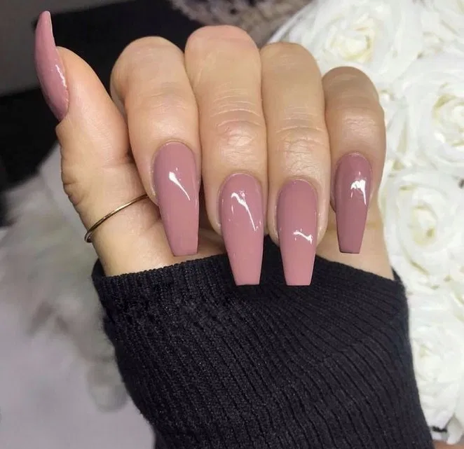 22+ trendy looking nail shapes for this fall and winter 20 | Bloghenni.online #nailsshape