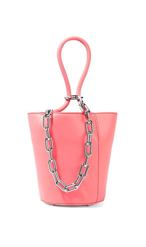 This pink top-handle bag is one of many all fashion girls will be buying  this spring. e7b54c5d0fbc0