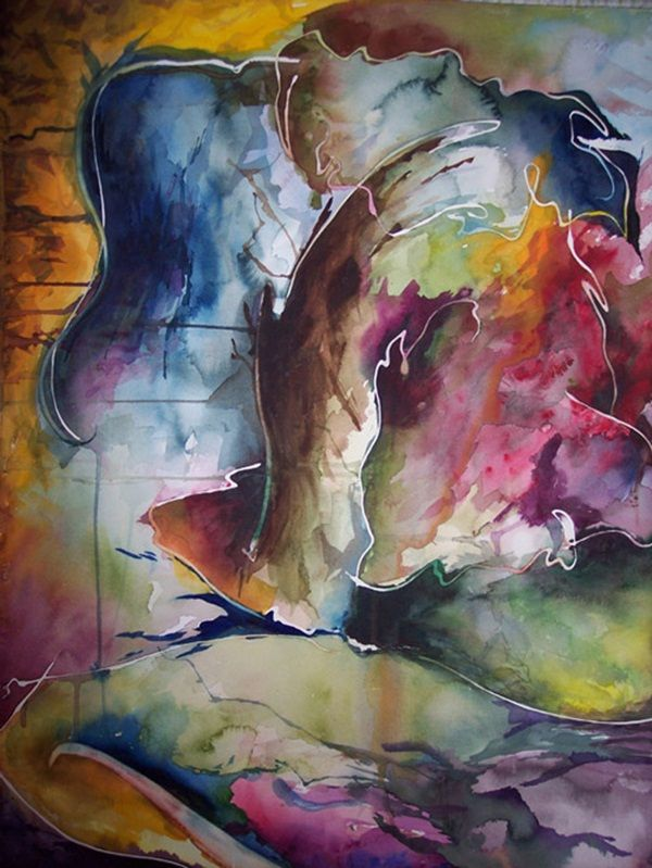 80 Simple Watercolor Painting Ideas Abstract Watercolor Watercolor Art Lessons Painting