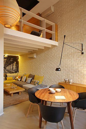 Arquitectura interior interiorismo de viviendas en - Decoradores de interiores barcelona ...