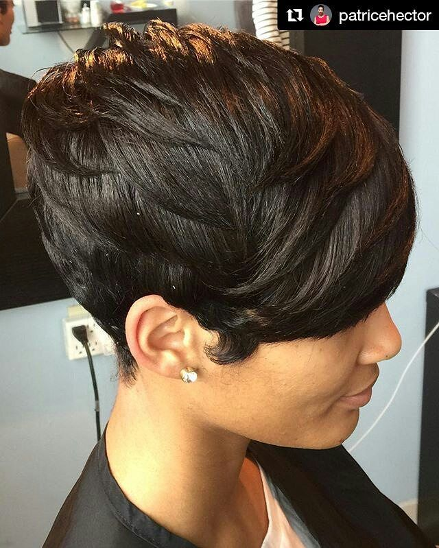 1 179 Likes 13 Comments Hair Salon Locator Afrohaircom On Instagram Style From Patricehector Of Atl Short Hair Styles Natural Hair Styles Stylish Hair