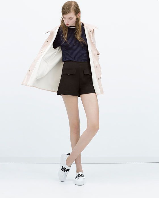 ZARA - WOMAN - SHORTS WITH FRONT POCKETS