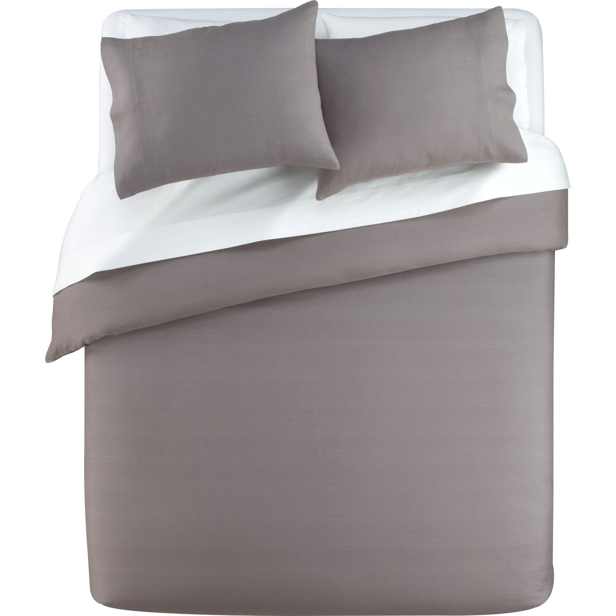 White bed top view - Varadero Bed Linens