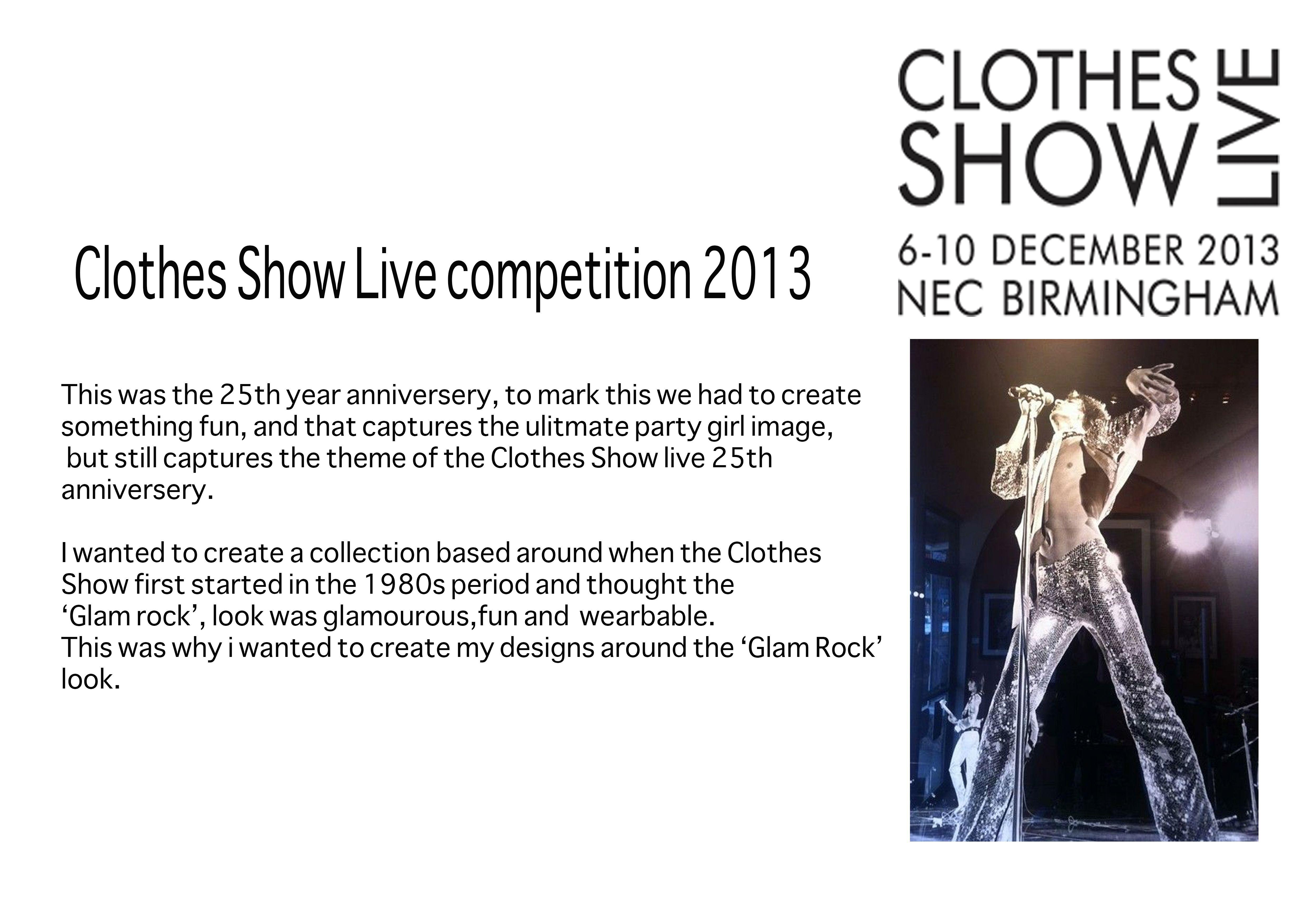 clothesshowlive