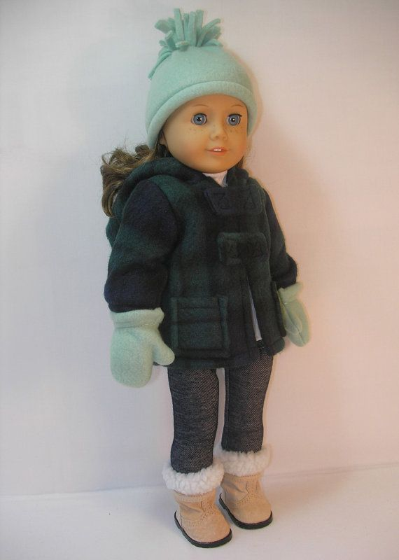 "Cute American Girl 18"" Doll Coat"