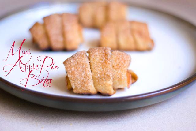 Mini Apple Pie Bites | Simply Love Food