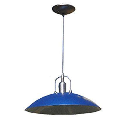 etoplighting las elite collection one light blue shade finish hanging pendant kitchen island indoor decor light - Blue Castle Decor