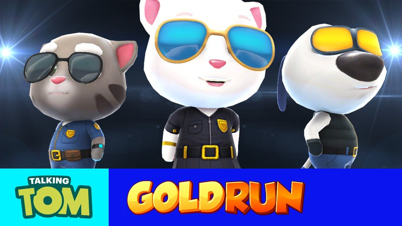 BRAVE NEW CHARACTERS Talking Tom Gold Run (Mission