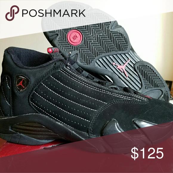 save off 3be19 0354a Sneaker. Nike Air Jordan XIV 14 Jordan 14 xiv Black White-True Red from the