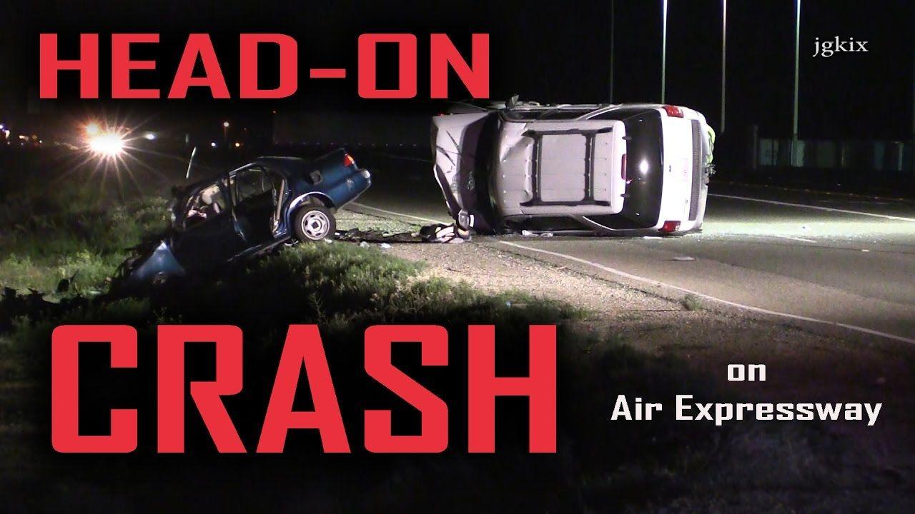 Head on crash on air expressway crash headed victorville