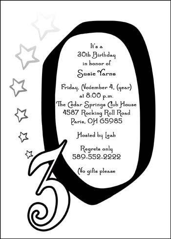 Birthday invite for 30th birthday party celebrations party birthday invite for 30th birthday party celebrations bookmarktalkfo Gallery
