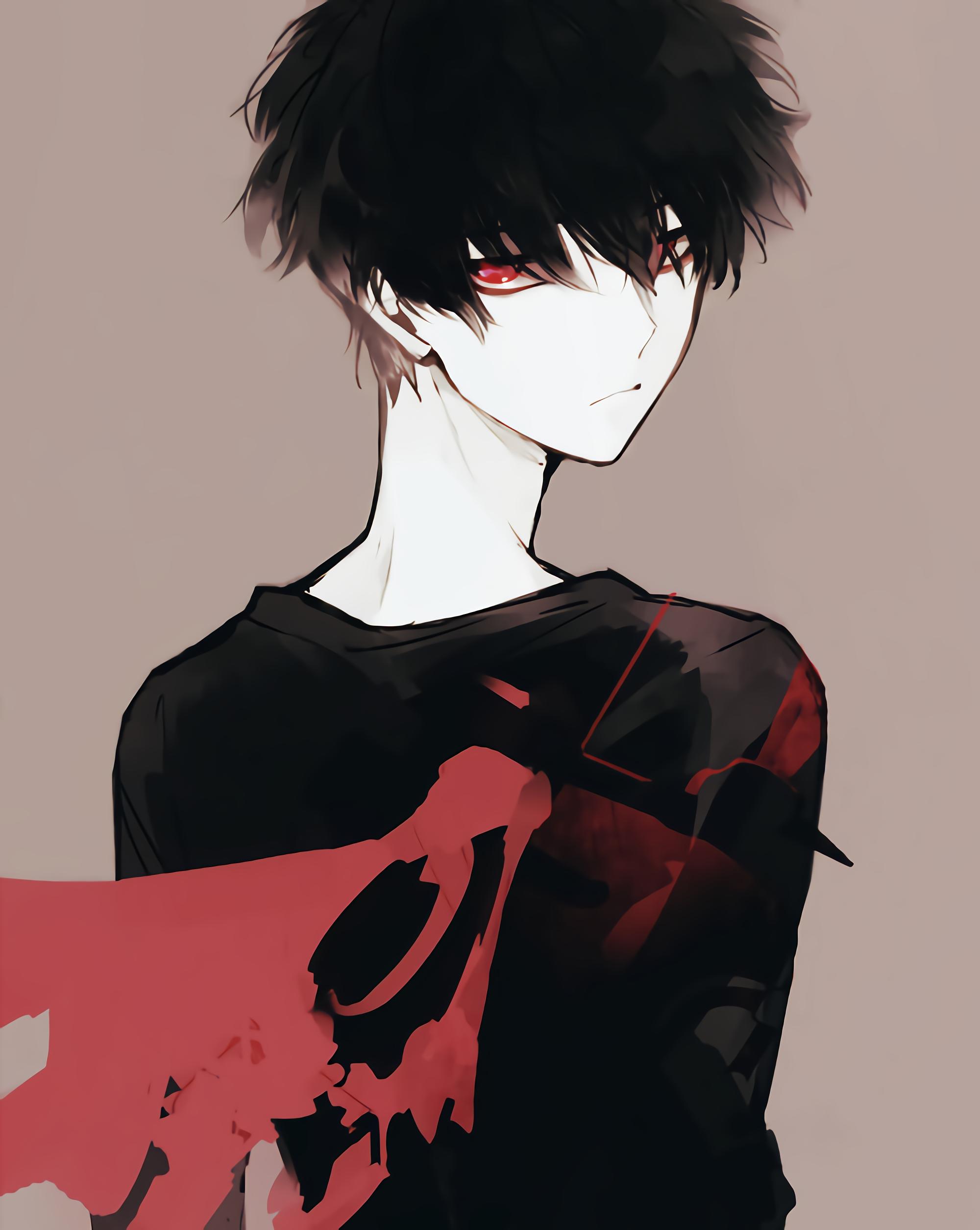 Image Result For Serious Loner Anime Boy Anime Dark Anime Anime Art