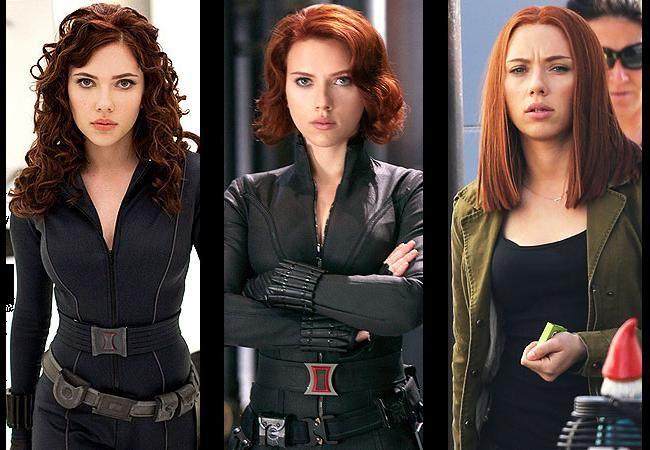 Black Widow Evolution Scarlett Johansson Red Hair Scarlett Johansson Hairstyle Black Widow Scarlett