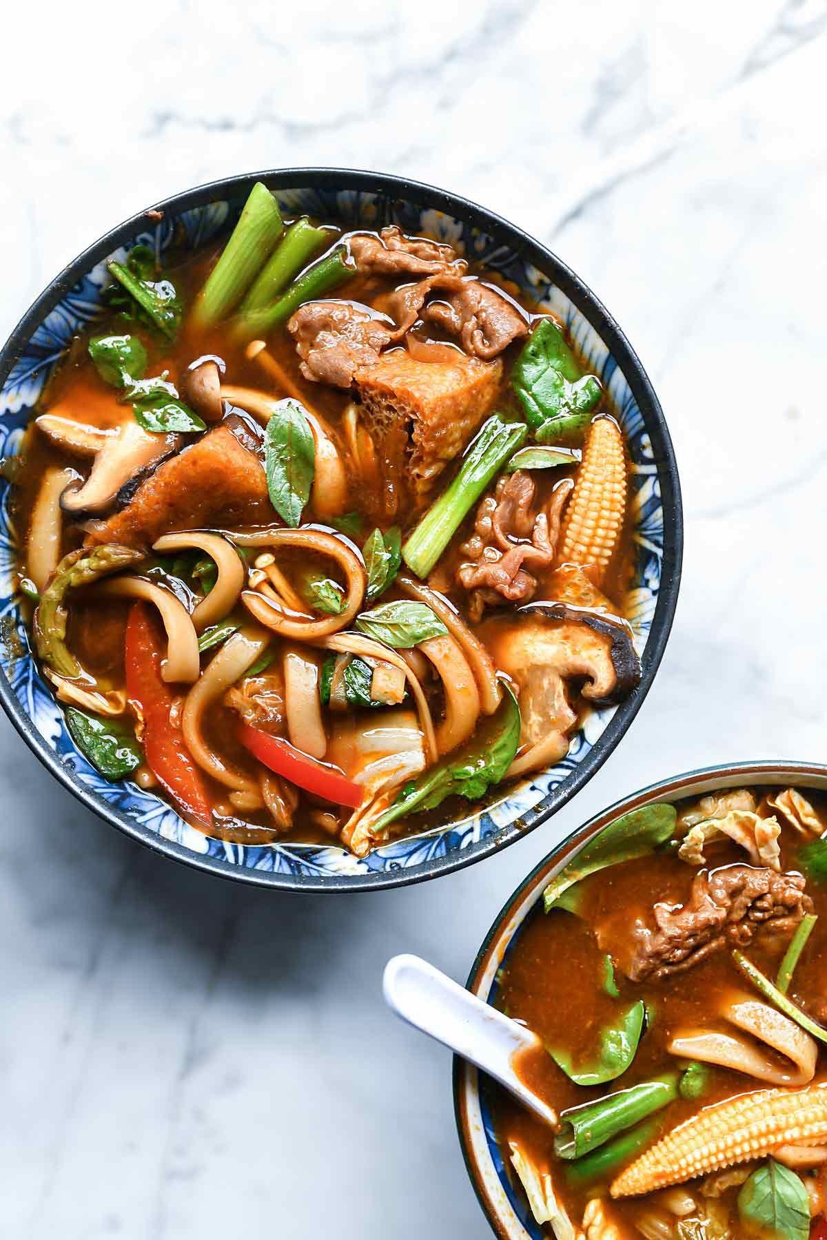 Easy Asian Hot Pot Recipe Foodiecrush Com Hotpot Soup Asian Dinner Instantpot Ramen Noodles Hot Pot Recipe