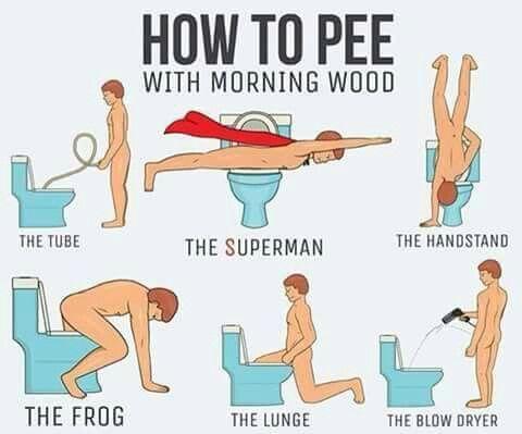 Morning Wood Pee