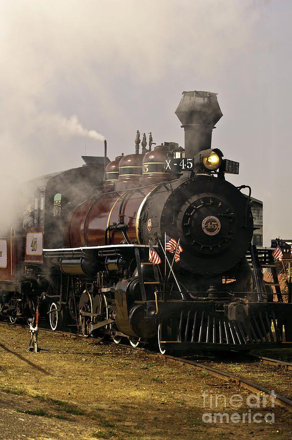 Old Steam Engine Trains Old Steam Train Engine Photograph Old Steam Train Engine Fine Art Train Tracks Old Trains Vintage Train