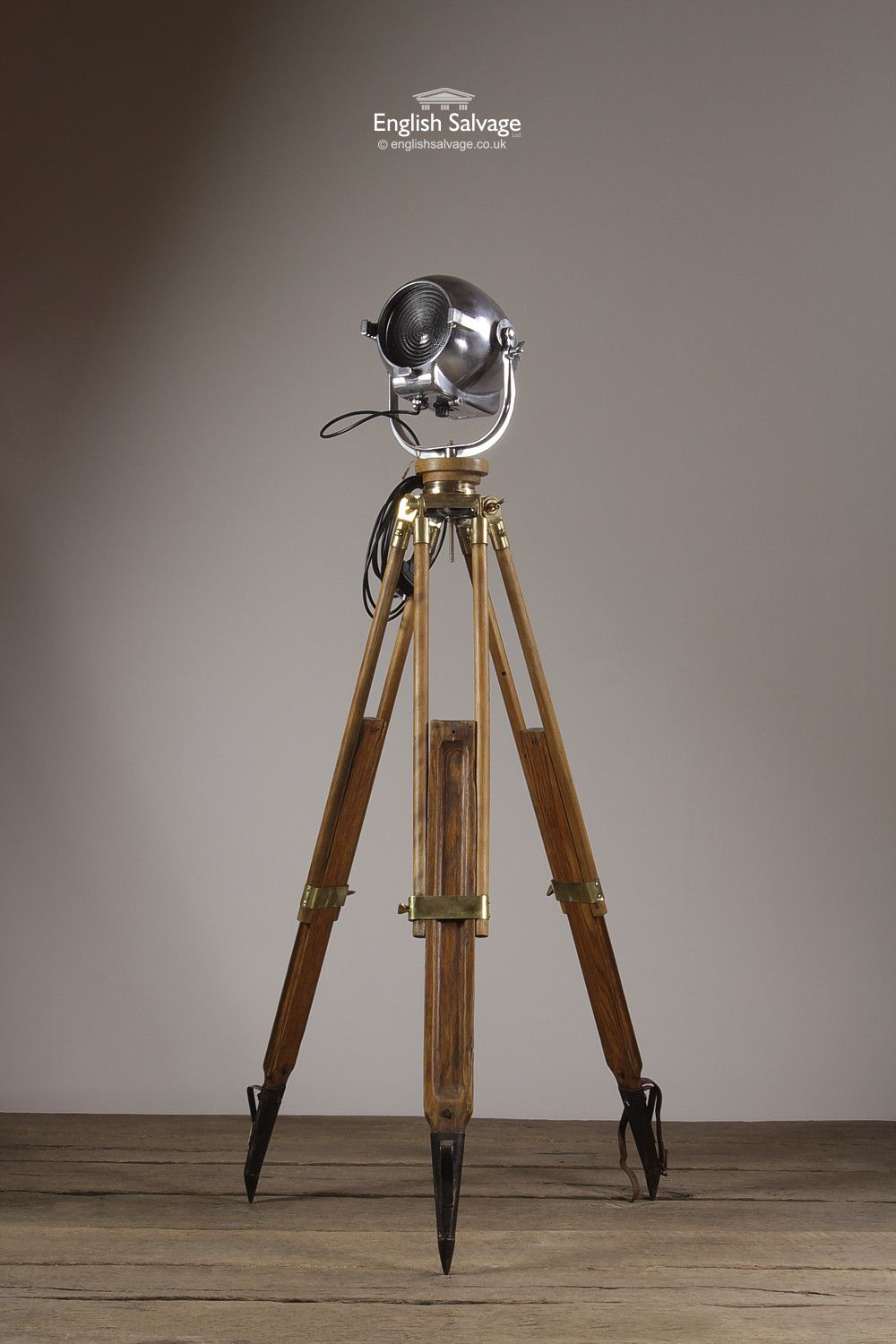 Wooden Light Stand Vintage Strand Light On Wooden Tripod Stand Cimc Facebook Live