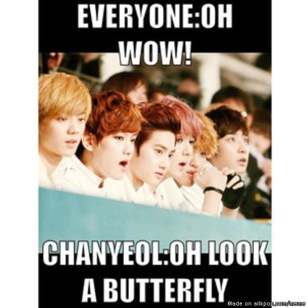 Troll CHANYEOL | Best Meme center, Chanyeol and Exo ideas