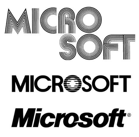 Rad Rebranding How Famous Logos Have Changed Over Time - How the logos of 15 famous tech companies have changed over the years