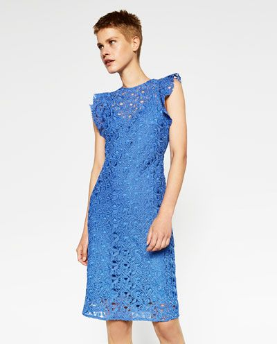 bced8b384916 GUIPURE LACE TUBE DRESS-View all-WOMAN-NEW IN | ZARA Lebanon | my ...