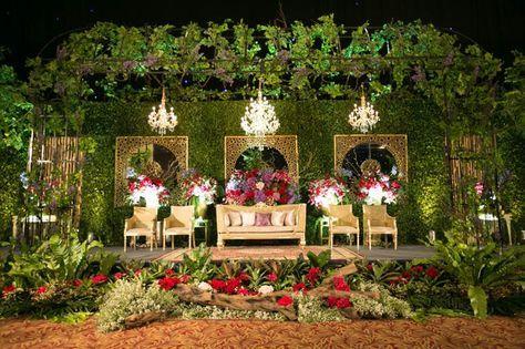 romantic, traditional and modern wedding ala tasya and