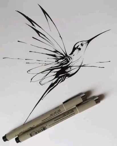 Hummingbird Tattoo Design #hummingbird