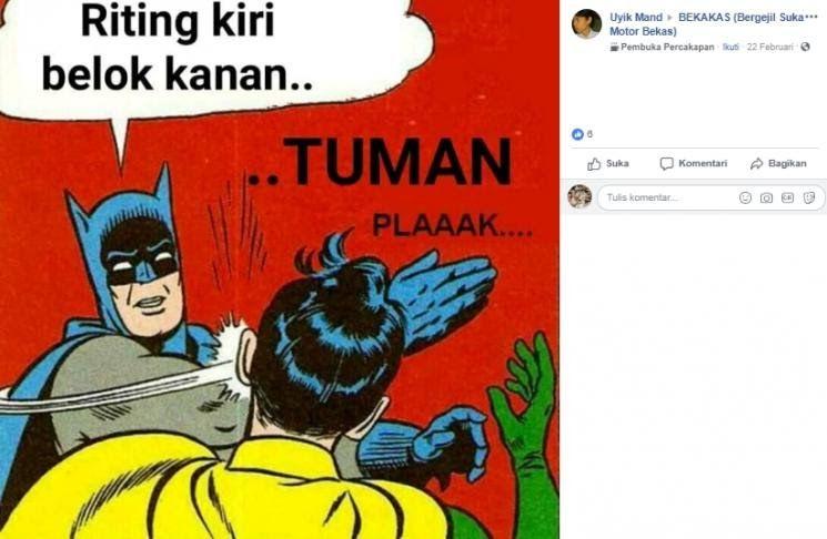 Gambar Kata Tuman Bahasa Jawa 10 Meme Tuman Bertema Otomotif Yang Bikin Kram Perut Kumpulan Meme Gambar Tuman Bahasa Jawa Dan Bahasa Meme Gambar Lucu Lucu