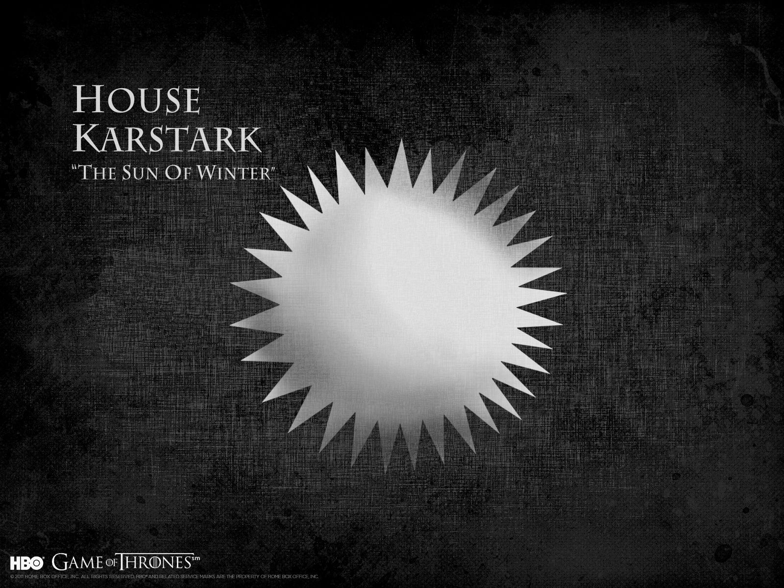 "House Karstark ""The Sun Of Winter"" The Game of Thrones"