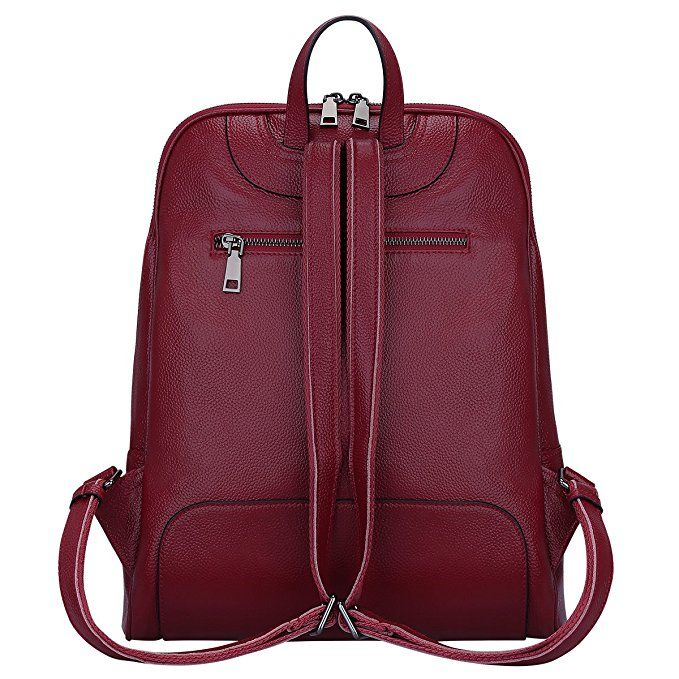 Multifunction Women Daily Backpacks Leather Shoulder Bags Travel Chest Backpack,WINERED