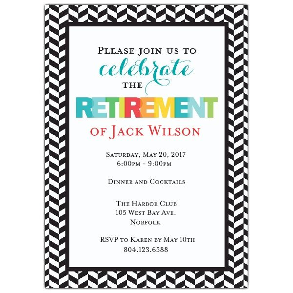 Best Create Own Retirement Party Invitations Printable