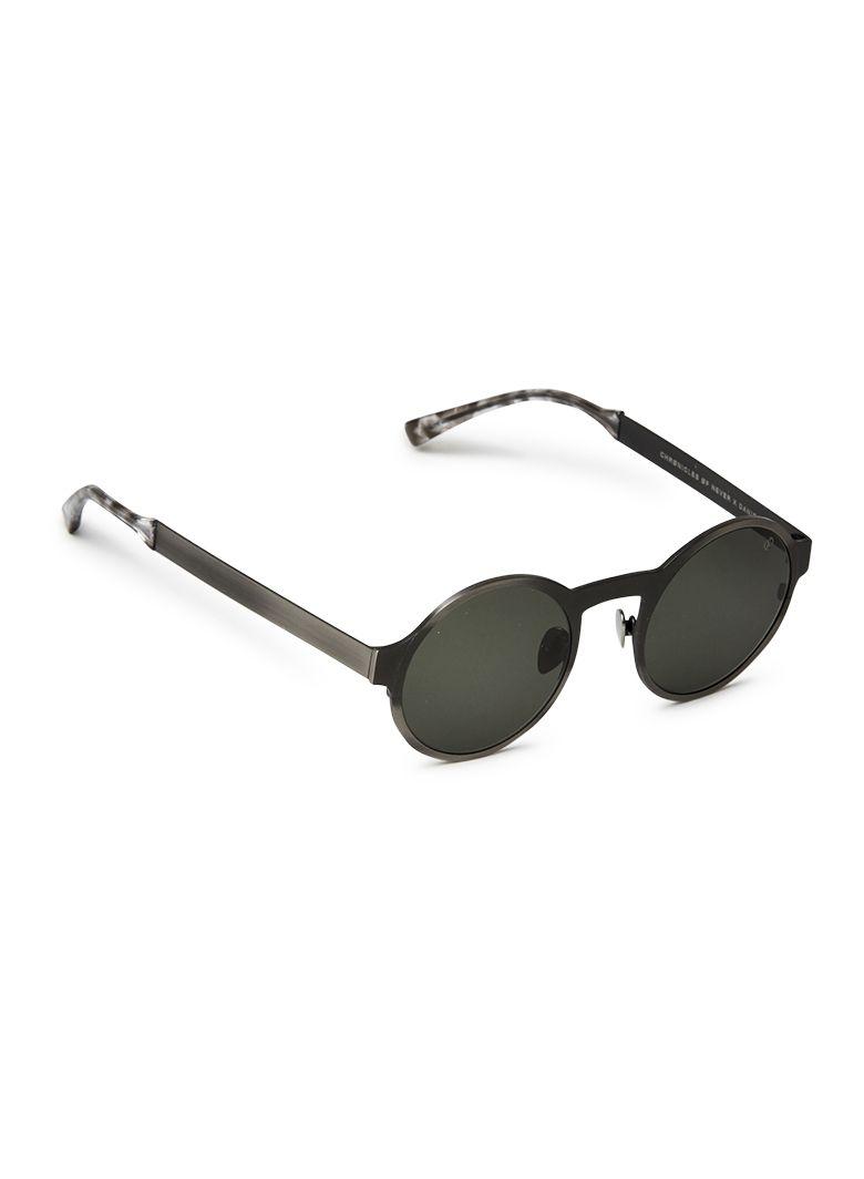 6a171e5c66 Glasses · Lentils · Sun God Titanium Brushed Silver   Green Lens Chrønicles  øf Never - Øptics AUD 590.00 AUD