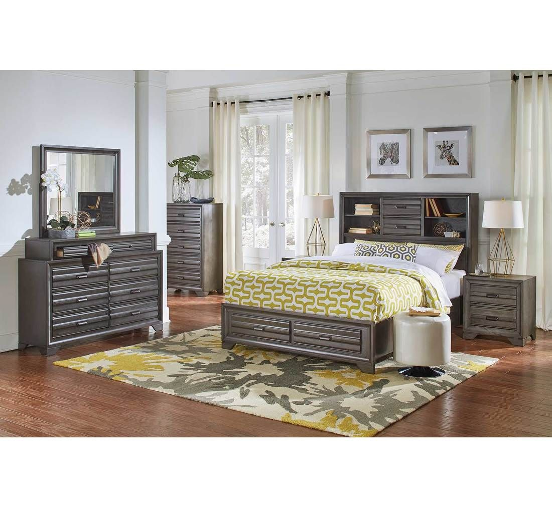 badcock bedroom sets. Trifecta 5pc King Storage Bedroom Group  Badcock more